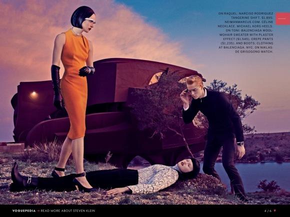 Raquel Zimmermann-Toni Garrn-Niklas Garrn-Steven Klein-Us Vogue September 2013_4