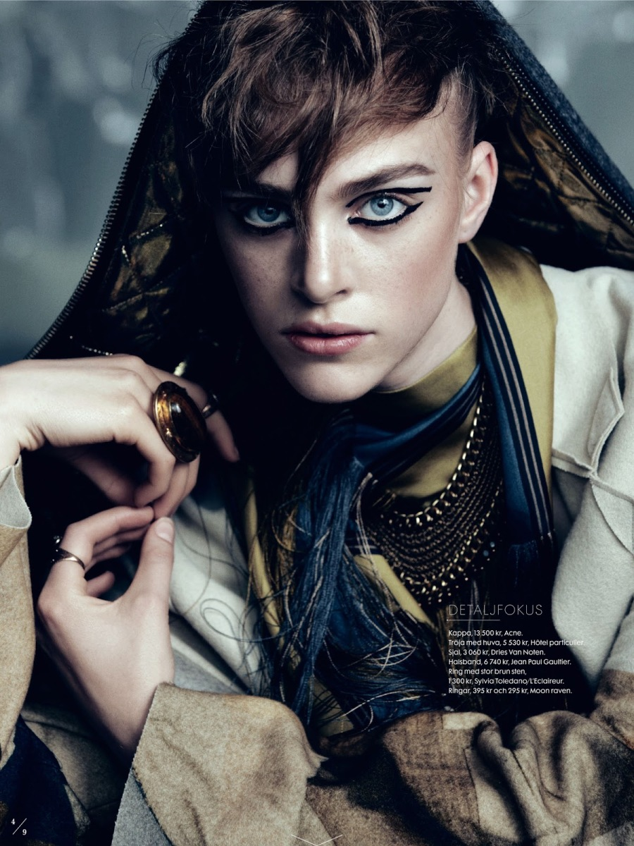 Fashion Feed : Min Gata by Elle Sweden September 2013