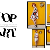 Fashion Feed : Pop Art By L'officiel Singapore March 2014